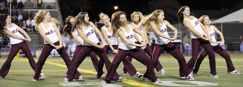 Menlo Atherton Bears Dance Team 2010-10-07