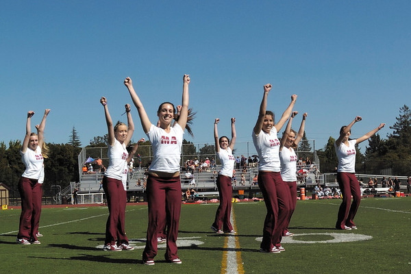 MA Dance Team at Bears vs. Los Gatos Football