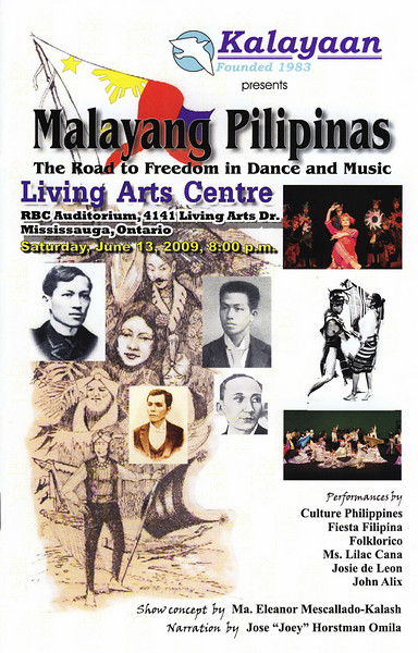 Malayang Pilipinas - The Road to Freedom in Dance  and Music