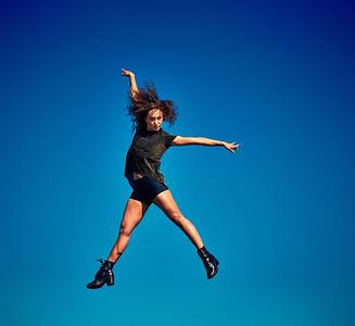 May 31, 2020- New York, NY    Dancer/Pilates instructor Manuela Sanchez captured in Bushwick Brooklyn- up on the roof Photographer- Robert Altman Post-production- Robert Altman
