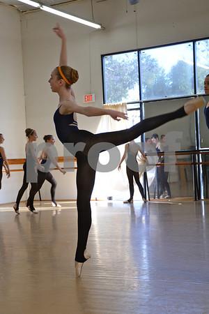Maple Jr. and Senior Company Showcase Rehearsals