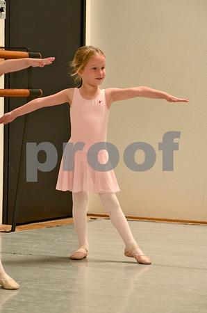 Maple Pre-Ballet & Preparatory Showcase Rehearsals