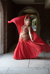Photo of The Day: Portraits; Marci Belly Dancing Portraits