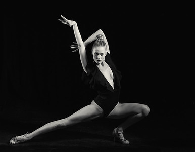 Dec. 1,  2019 - New York, NY   Dancer/actress Milda Gecaite captured at the Producers Club NYC  Photographer- Robert Altman Post-production- Robert Altman