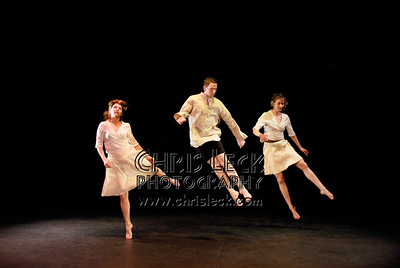 'Unique Passages' performed by Nexus Dance Co. Dancers: Casey Davenport, AnnMarie Hathaway, and Loretta Orosz. Choreographer: Carole Gayley.