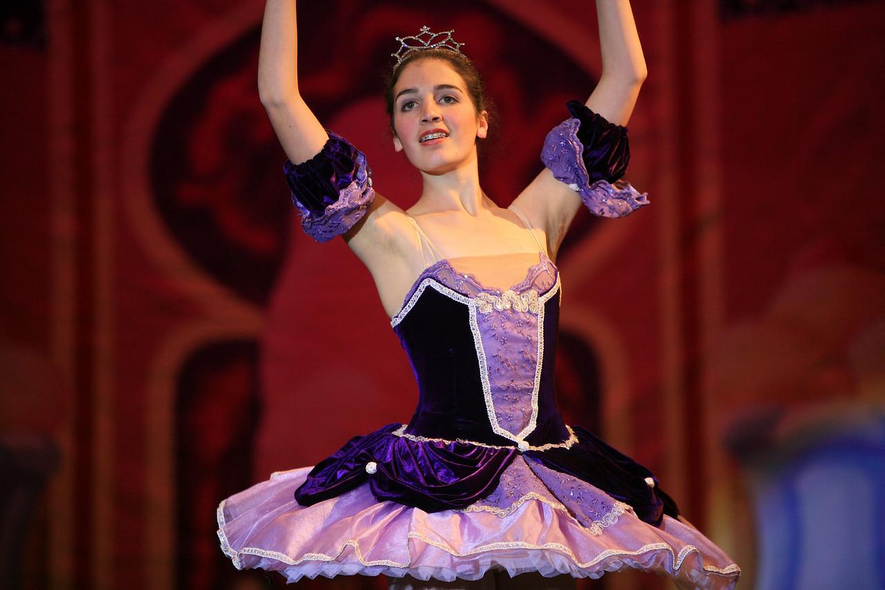 The Sugar Plum Fairy enters.
