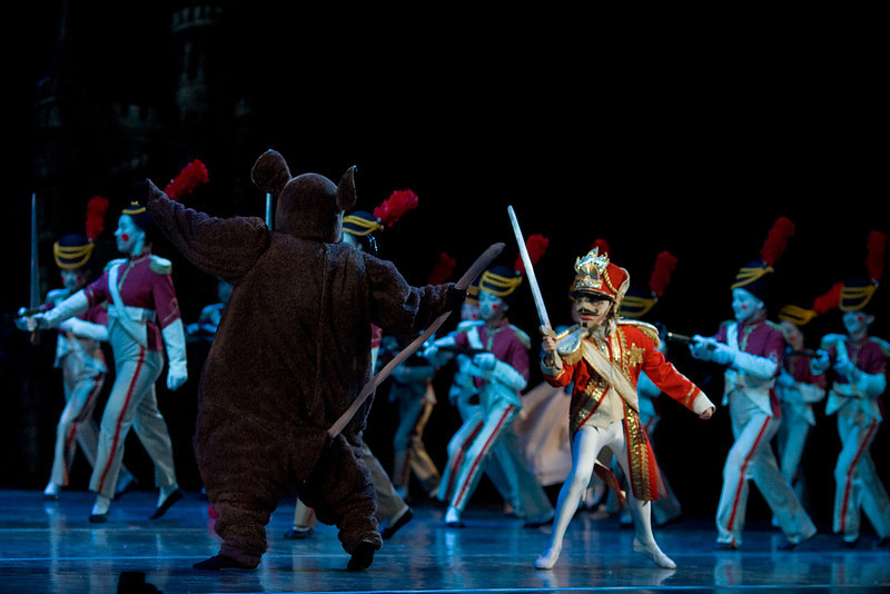 Battle Scene as the young Nutcracker battles the Rats