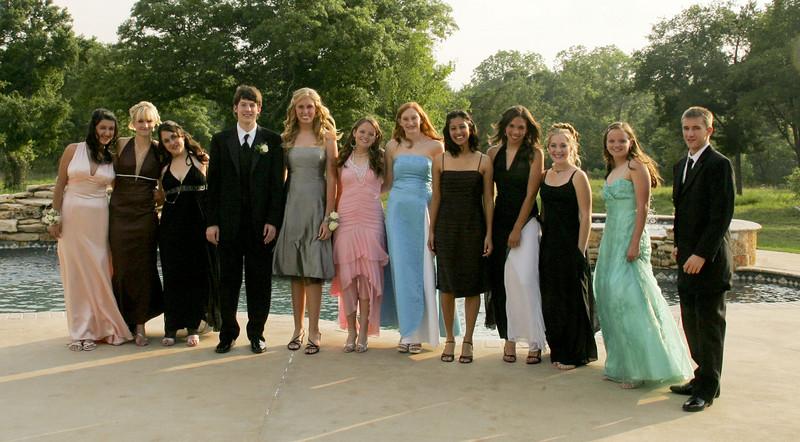 The entire group - Set, Carolin, Anika, Justin, Catherine, Rainee, Cassie, Jordan, Shanna, Caroline, Christi, Kalan