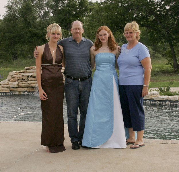 Carolin, Dad, Cassie & Mom