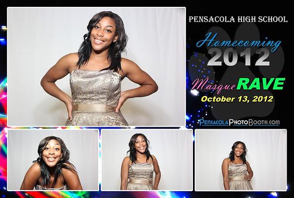Pensacola High School Homecoming Dance 10-13-2012