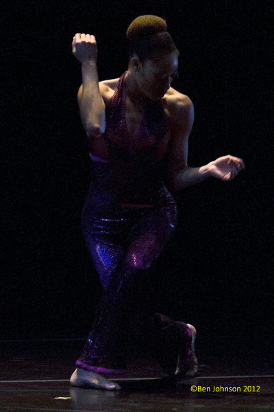 Philadanco performing 'Back To Black' at the Kimmel Center December 7, 2012