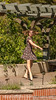 Quinn Dancing at the Botanic Gardens
