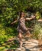 Quinn Dancing in the Botanic Gardens