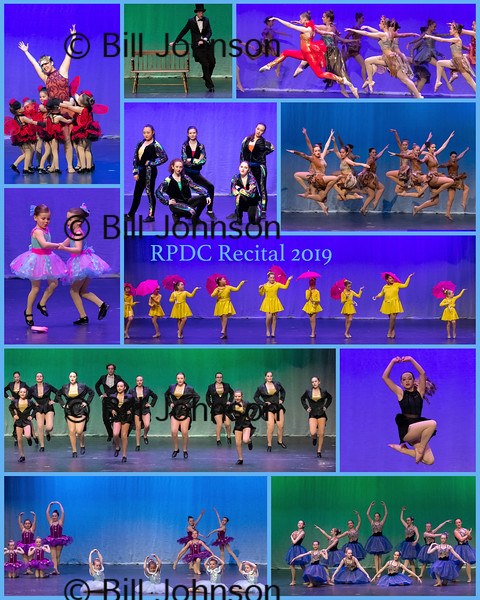 RPDC recital 2019 collage