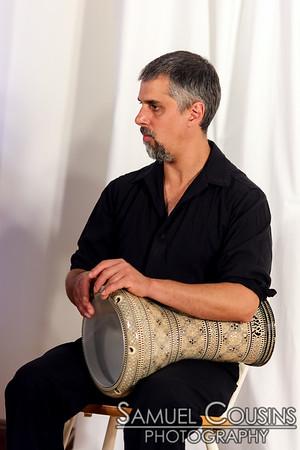 Zapion performing at Raqs Borealis