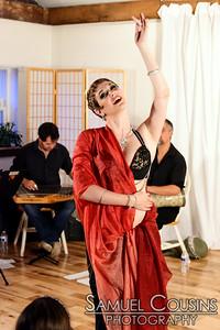 Rosa Noreen performing at Raqs Borealis.