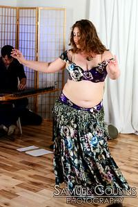 Zabel, performing at Raqs Borealis