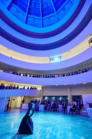 Dec. 9,  2019 - New York, NY   The 2019 Guggenheim Works and Process Rotunda Party - Swing Dancing with Caleb Teicher, Chris Celiz, Ben Folds, Conrad Tao and Eyal Vilner Big Band  Choreographer and dancer Caleb Teicher, musician Ben Folds, and friends come together for a special performance set in the Guggenheim rotunda. Accompanied by Eyal Vilner Big Band, Teicher will teach an introduction to swing dancing, followed by a party to put the moves in motion.   Photographer- Robert Altman Post-production- Robert Altman
