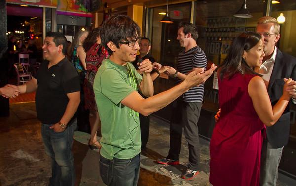 Sabor Restaurant Salsa Dance Class