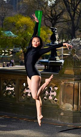 April 7, 2019 - New York, NY - Sabrina Wong photoshoot Central Park NYC  © Robert Altman  Photographer- Robert Altman Post-production- Robert Altman