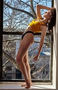 Feb. 15, 2019 - New York, NY  Dancer Sara Pizzi captured in studio  Photographer- Robert Altman Post-production- Robert Altman