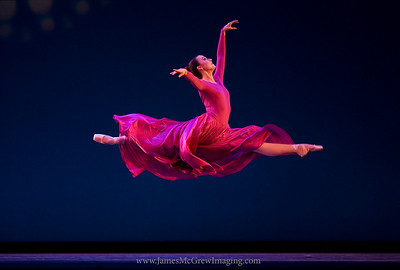 "OBT Soloist, Candace Bouchard in ""Gloria"""