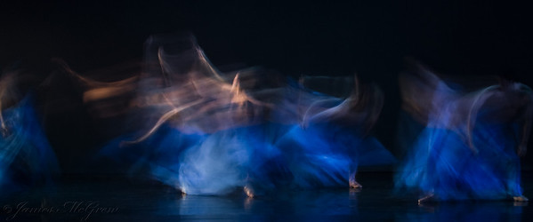 "Nowthwest Professional Dance Project world premier of ""Blue."""