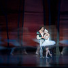Oregon Ballet Theatre (OBT) principal dancers Artur Sultanov and Alison Roper in Christopher Stowell's Swan Lake.