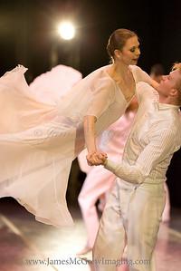 OBT Principal Dancer Gavin Larsen and Soloist Adrian Fry.