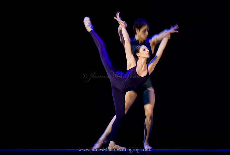Dutch National Ballet Dancers Maia Makhateli and Felipe Diaz Gomez in Hans Van Manens Twoat.