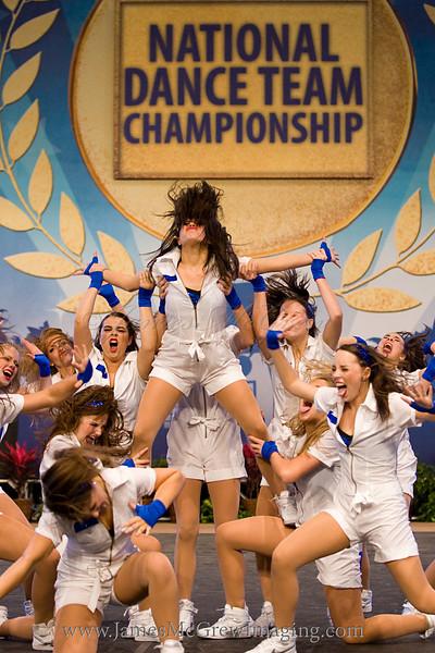 Lake Oswego Laker Dance Team in the 2011 National Championships in Walt Disney World, FL.