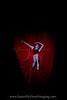 OBT principal dancer, Alison Roper in the closing seconds of Nicolo Fonte's Bolero.