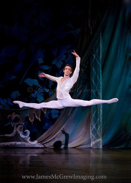 "Brian Simcoe in Oregon Ballet Theatre's 2012 production of George Balanchine's ""The Nutcracker.""  ©2012 James McGrew"