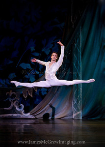 "Brian Simcoe in Oregon Ballet Theatre's 2012 production of George Balanchine's ""The Nutcracker.""  ©2012 James McGrew"