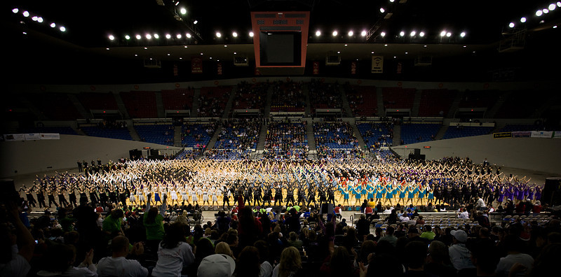 OSAA State Championships, Grand March-In