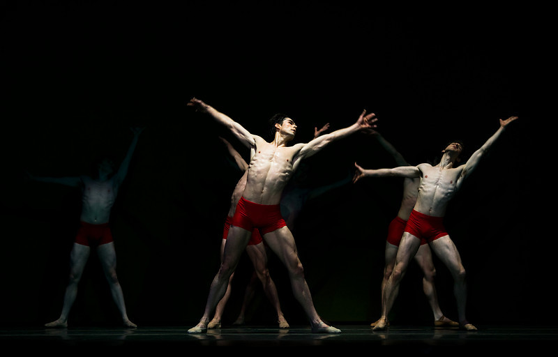 OBT principal dancer Artur Sultanov in Christopher Stowell's The Rite of Spring.