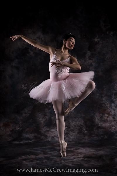 Megan Abila as the Sugar Plum Fairy.  In the studio, ©2010, James McGrew