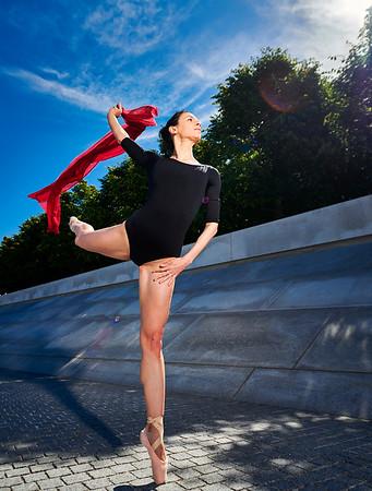 May 25, 2019 - New York, NY  Dancer Sevin Ceviker captured on New York's Roosevelt Island  Photographer- Robert Altman Post-production- Robert Altman