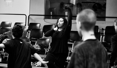 January 28, 2018 - New York, NY - Sidra Bell Dance Company rehearsal at CPR Brooklyn  Choreographer/Director- Sidra Bell Dancers- SEBASTIAN ABARBANELL, TUSHRIK FREDERICKS , DREW LEWIS, MISA KINNO LUCYSHYN, MADISON WADA, LEAL ZIELIŃSKA, SOPHIA PARKER  Photographer- Robert Altman Post production- Robert Altman