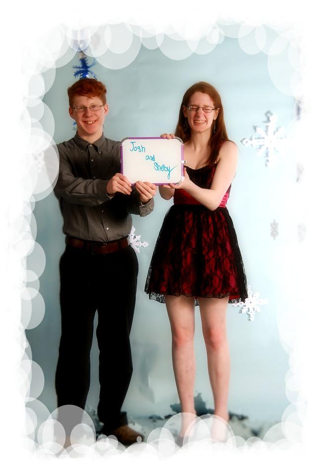Josh and Shelby goofy