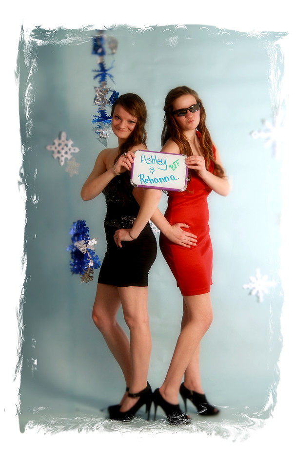 Ashley and Rheanna ,goofy