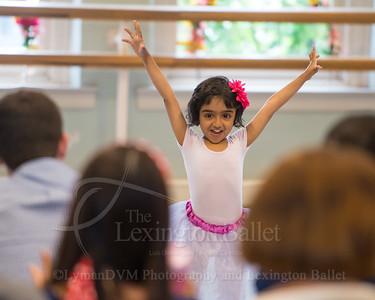 Creative Movement & Pre-ballet Showcase 2014