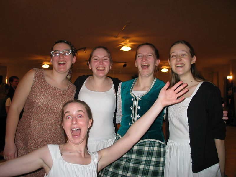 Megan, Maureen, Sophia, Charlotte<br /> Deborah
