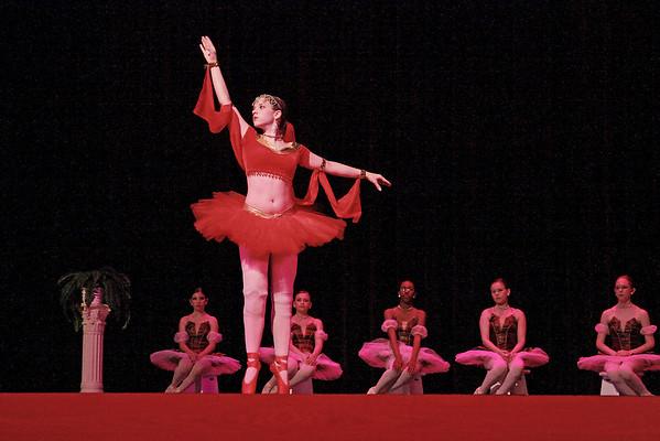 Kayla - Emily's ballet team partner.