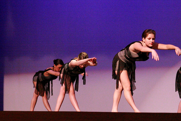 Lyrical competition routine