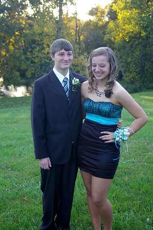 Sydney and Dylan Phoenixville Homecoming 10/15/11