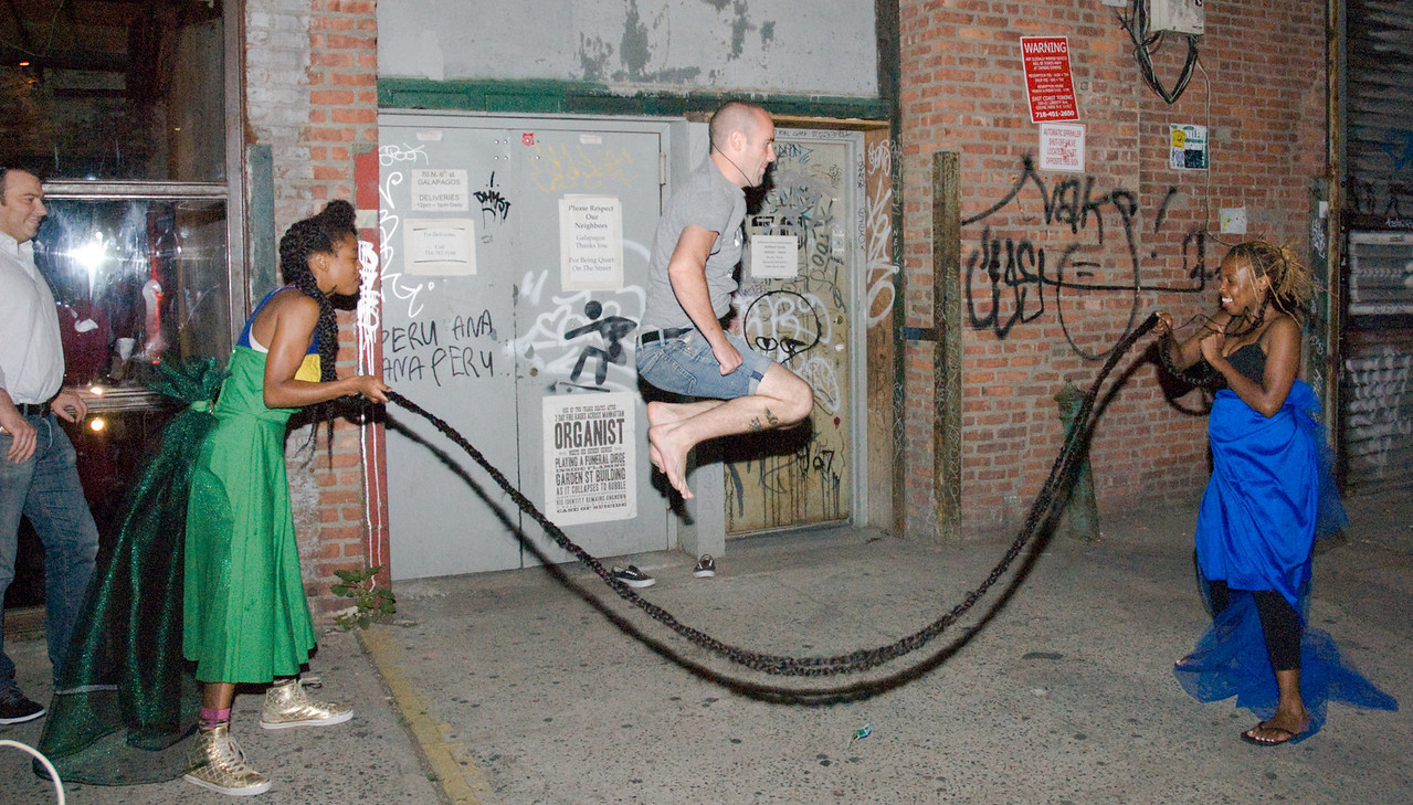 Out side a Club in BK