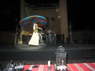 Tanoura and bellydance at Bab al Shams, Dubai