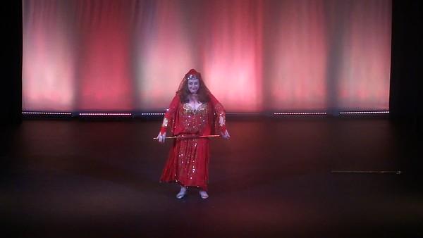Amara Al Amir in Raks Al Asaya - Double Cane to Ala Hesb Wedad