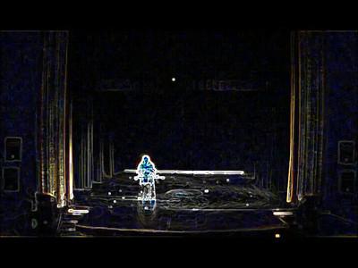 Amara Al Amir in Unique View of her Double Cane Dance